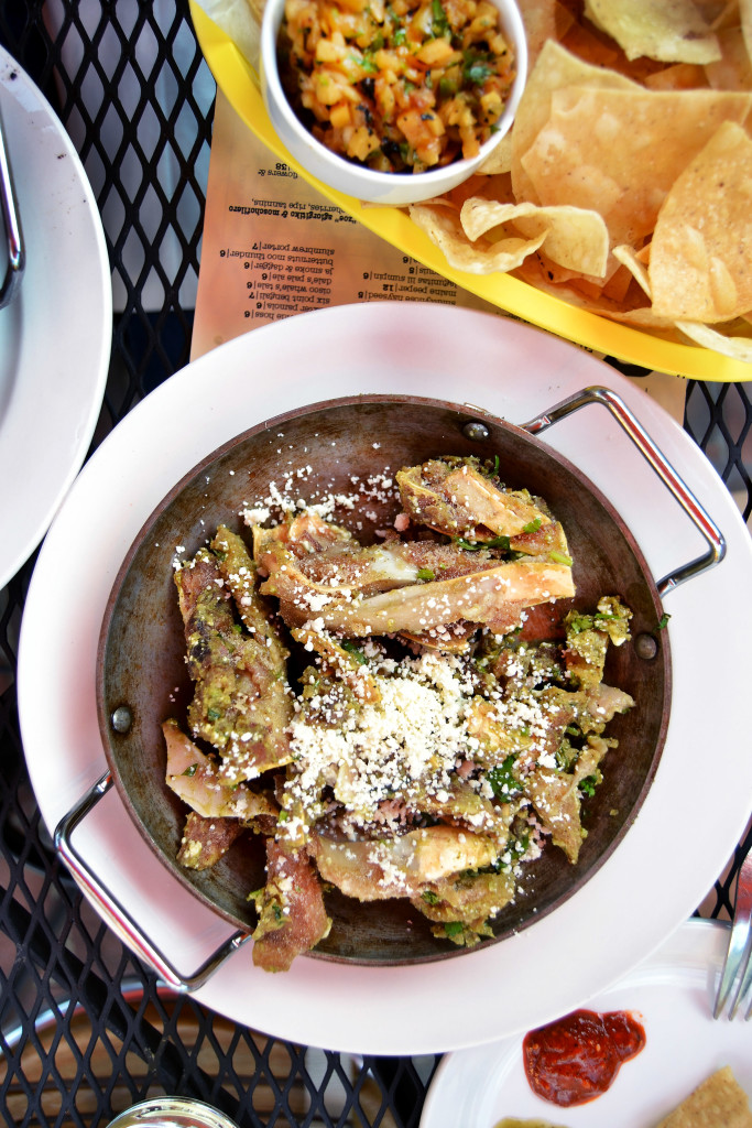 pig's ears chilaquiles