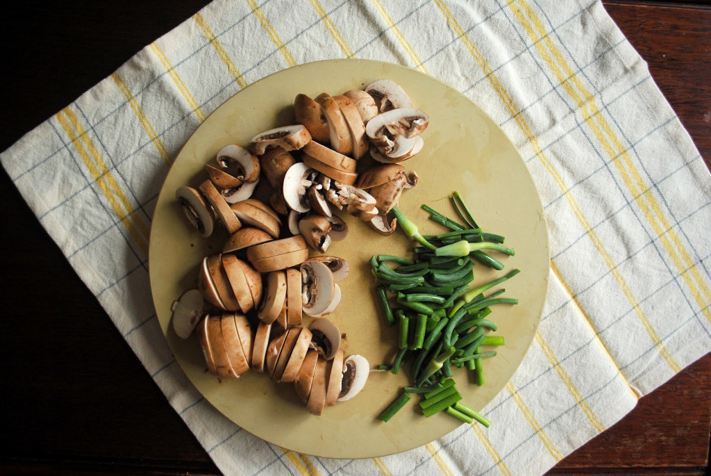 Mushroom and Scapes