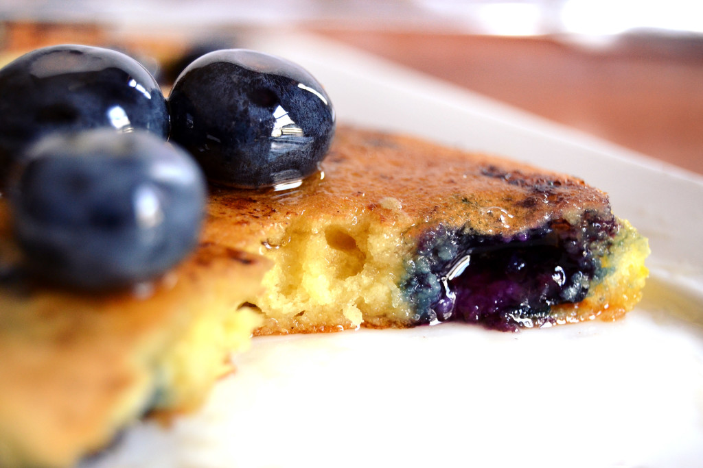 blueberry lemon pancake