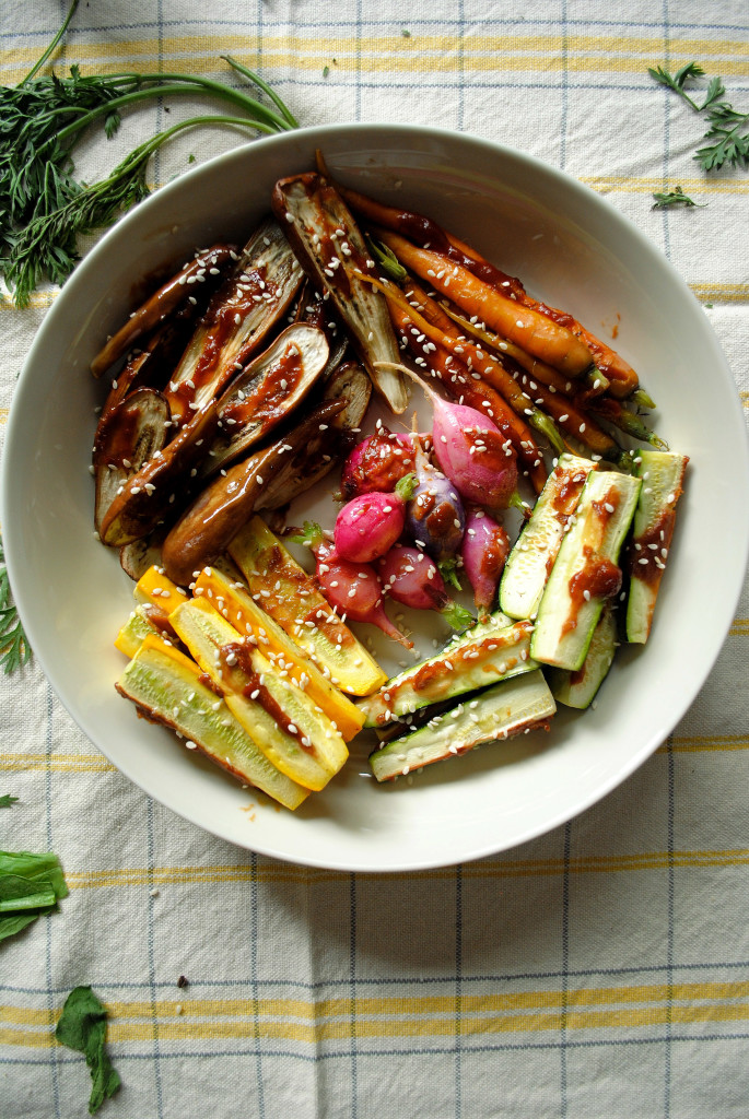Miso Roasted Veggies