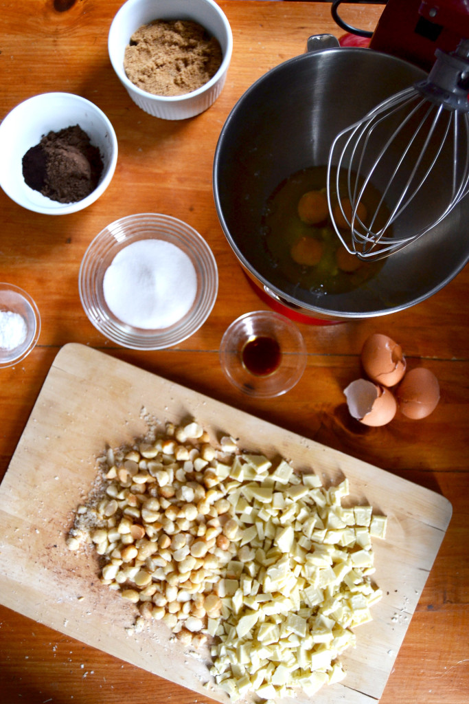 chocolate cookie mise