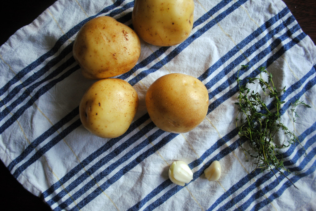 Crispy Potatoes Ingredients