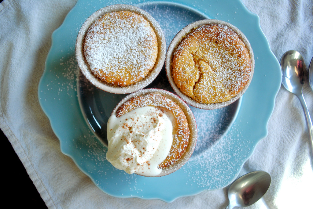Souffle with Whipped Cream