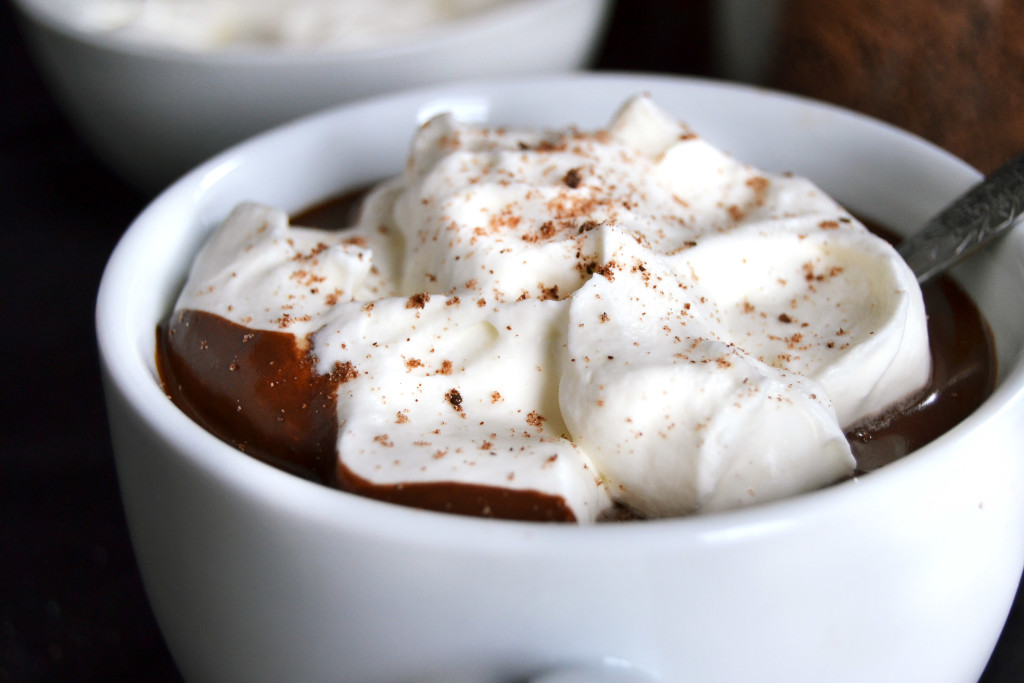 intensely rich european hot chocolate