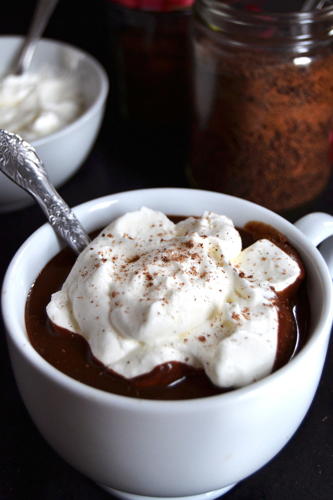 rich european style hot chocolate