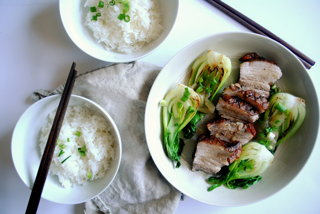 Pork Belly and Rice