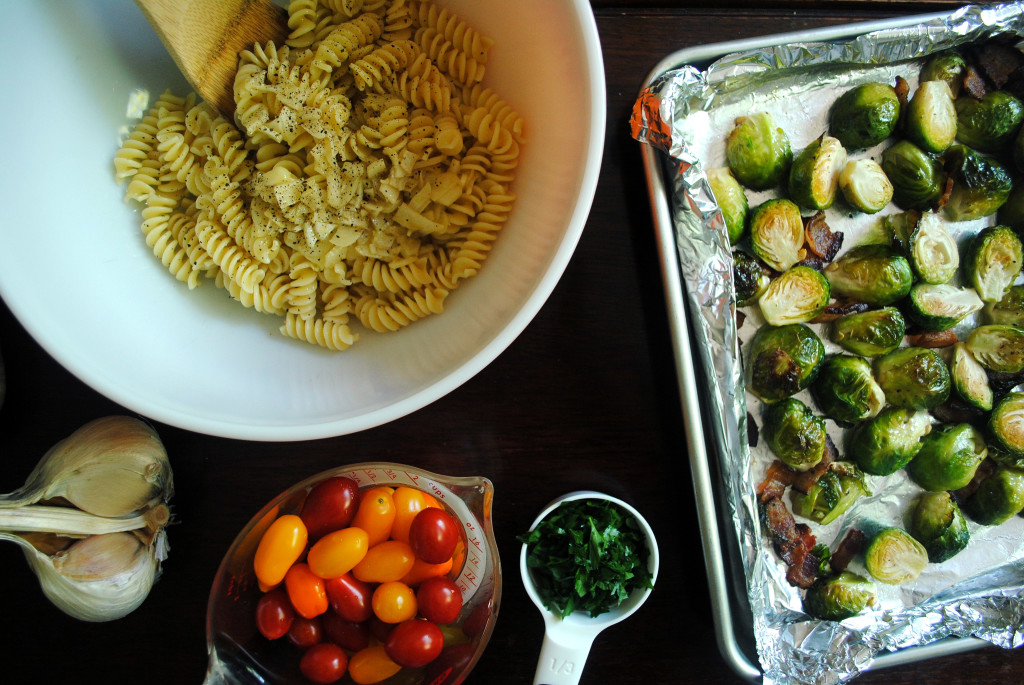 Brussels Sprouts Set Up