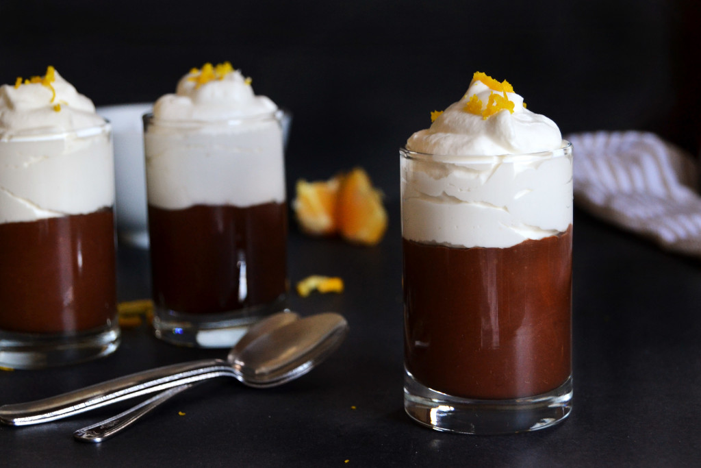 decadent chocolate orange mousse