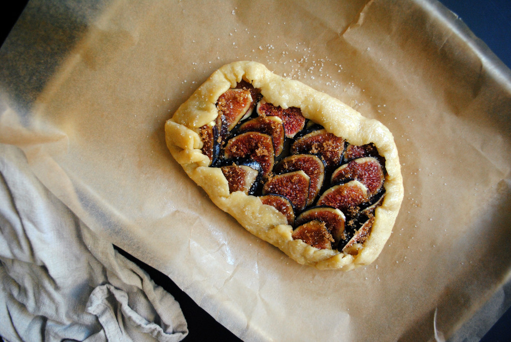Fig Galette and Sugar