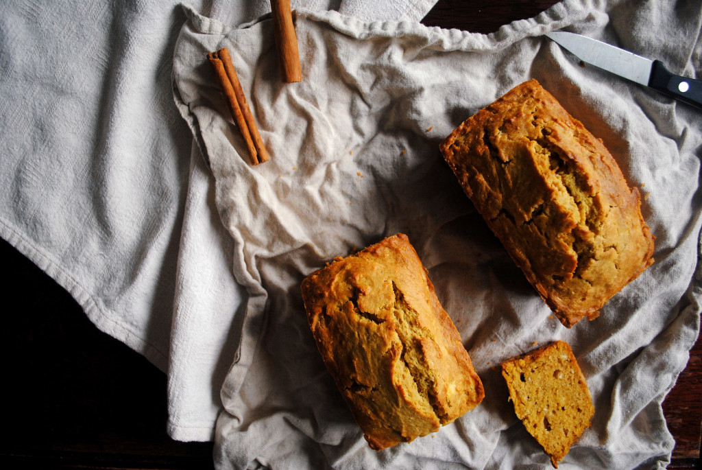 Two Pumpkin Loaves