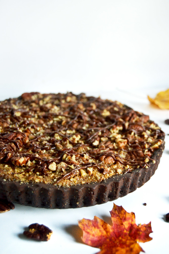 chocolate-pecan-pie-thanksgiving-yinandyolk-com