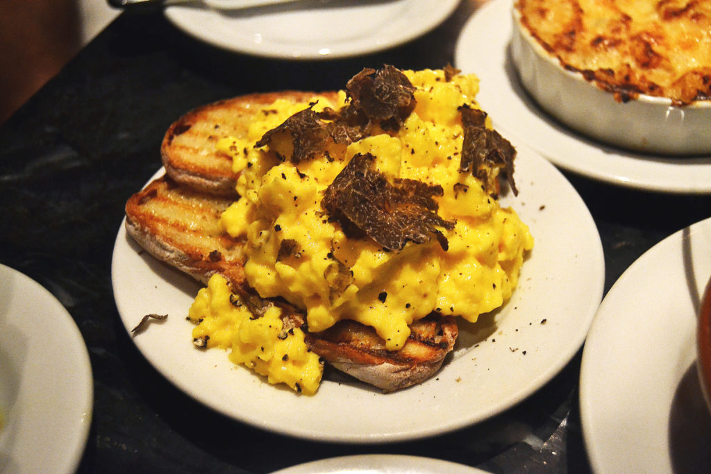 Truffle Butter Eggs Buvette NYC