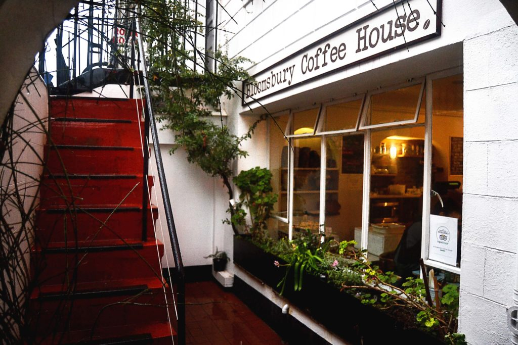 Bloomsbury Coffee House Tavistock London