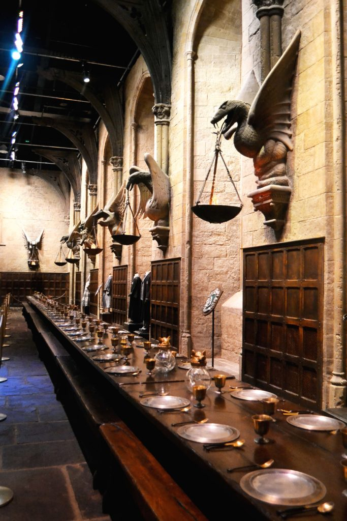 Harry Potter Studios London Great Hall