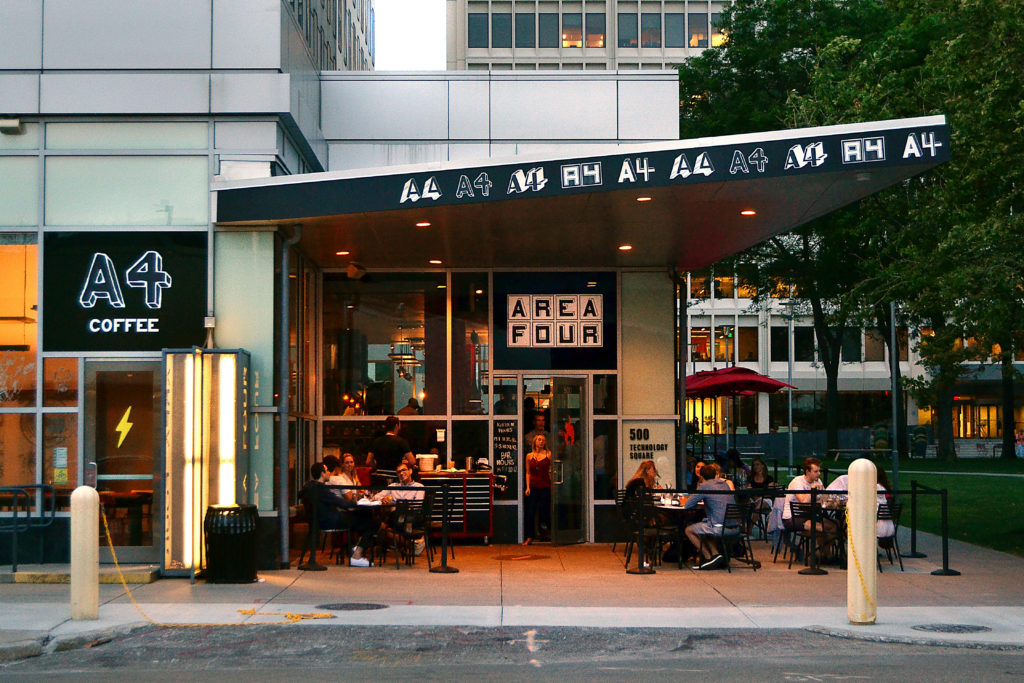 Area Four Pizza Kendall Square